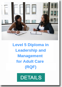 Click for information on: Level 5 Diploma in Leadership & Management