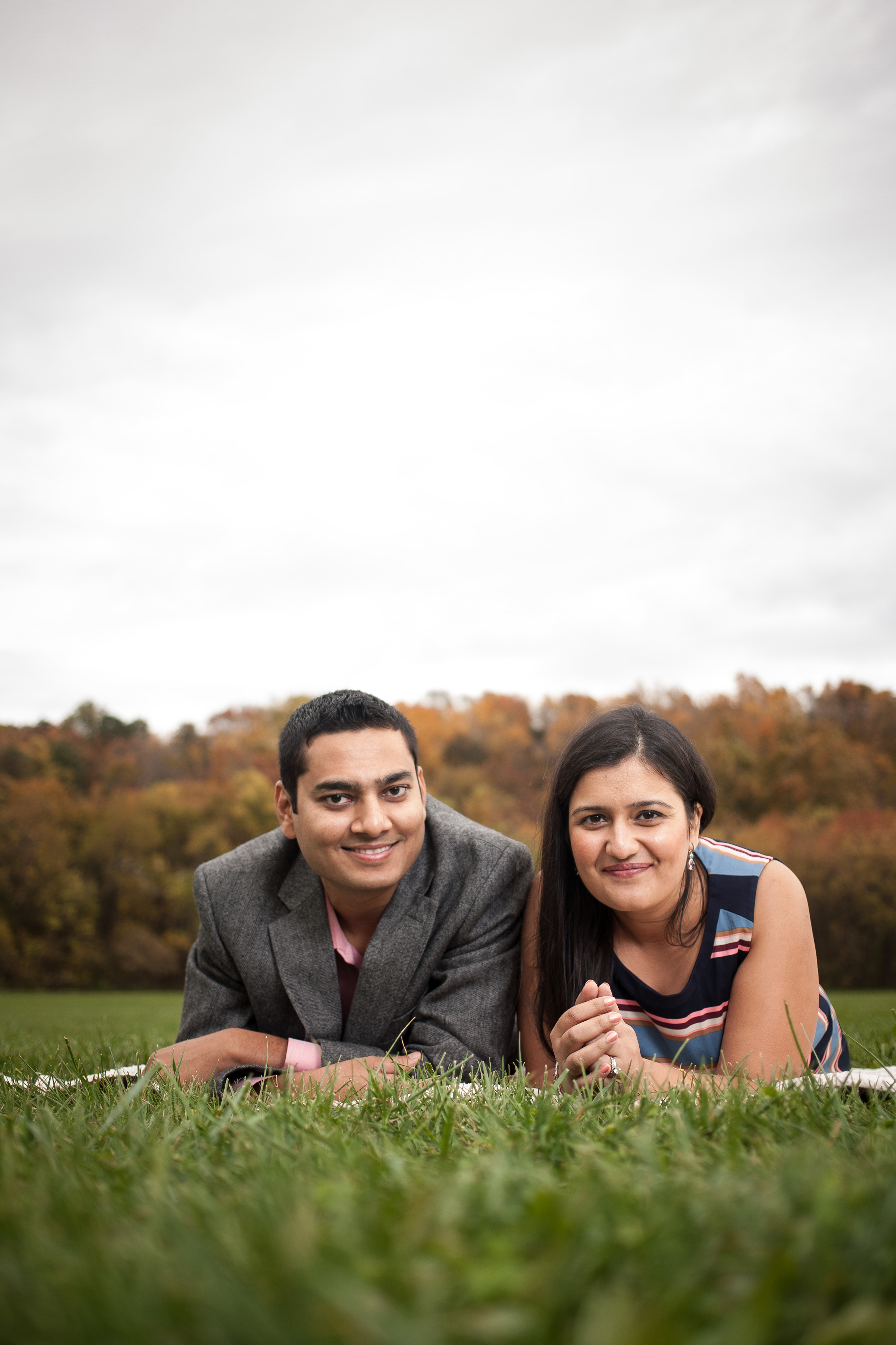 Fall photo session Green Hill Park Salem Virginia