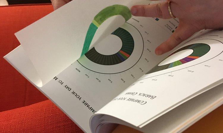 my life through data visualization