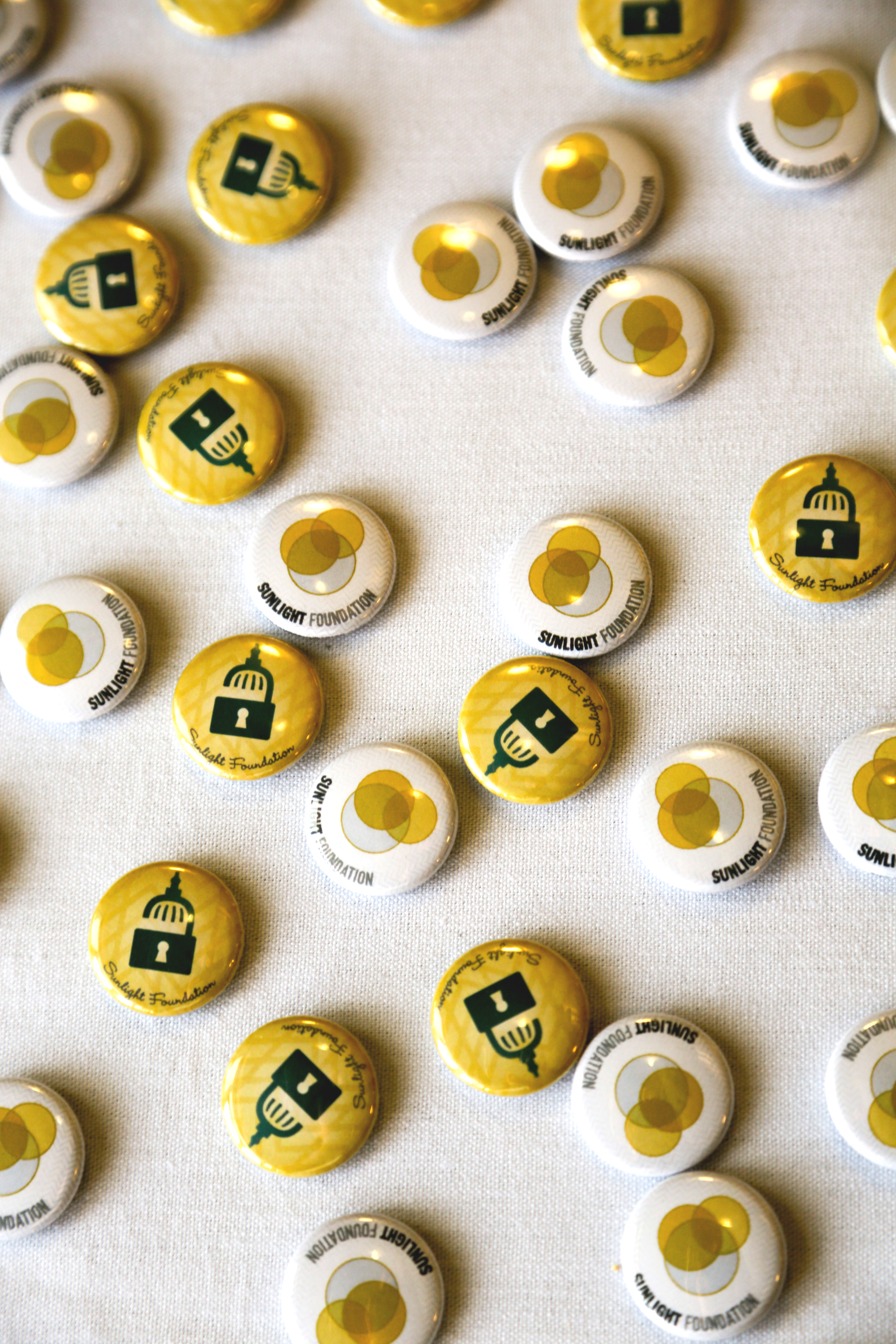 Sunlight Foundation buttons
