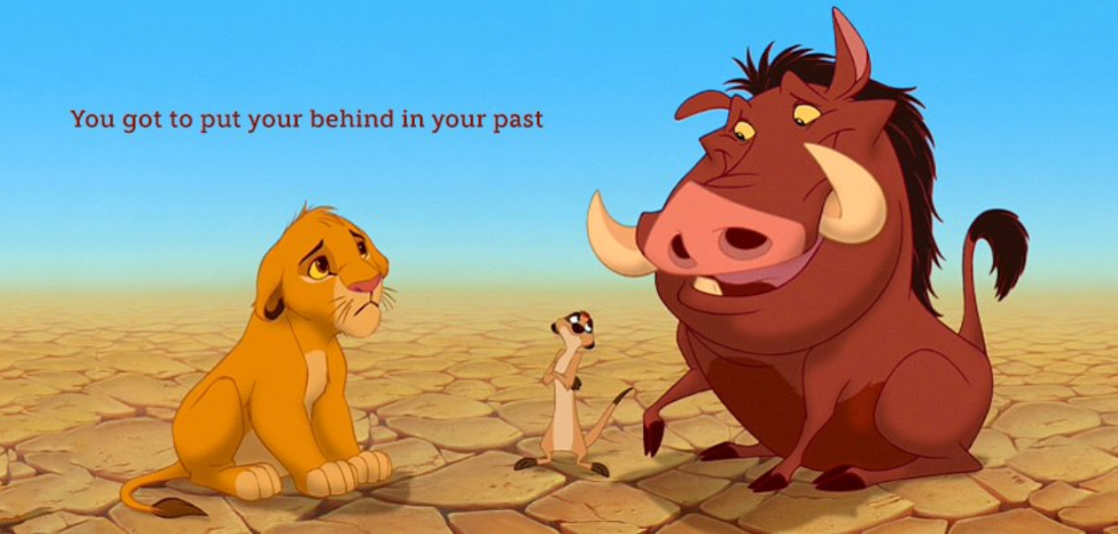 Defeat regret! Or just re-watch a lot of  Disney  movies.