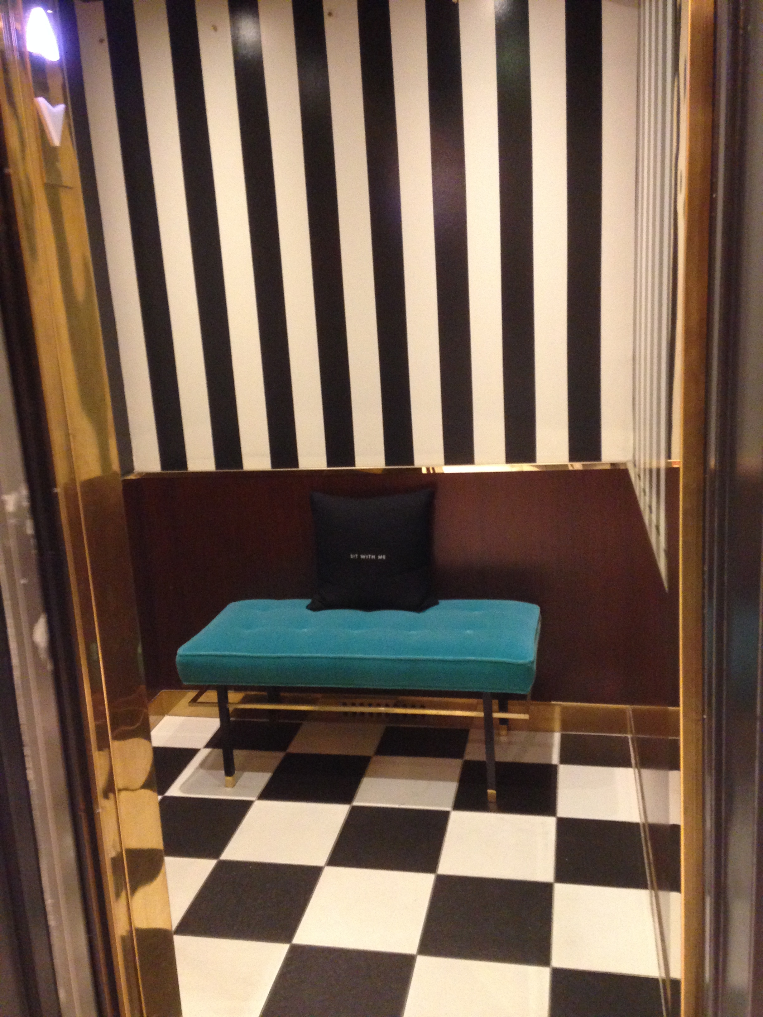 KATE SPADE ELEVATOR COUCH