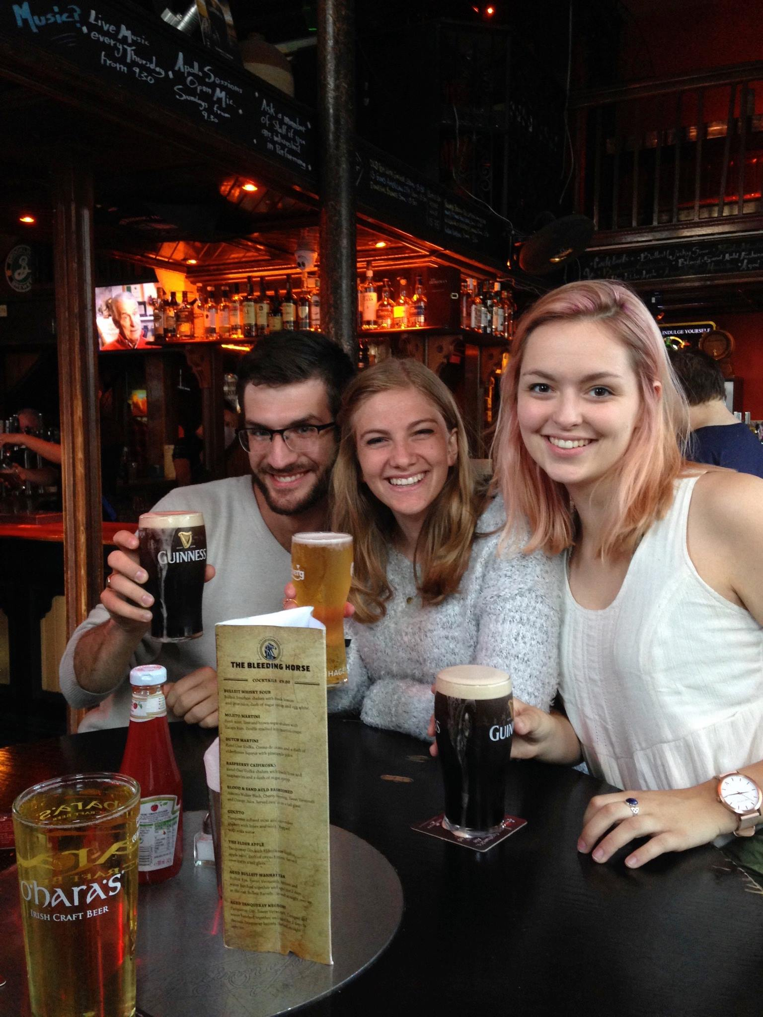 friends! who are not irish!