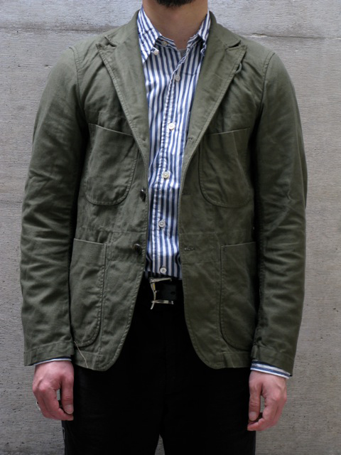 Engineered Garments Cotton Twill Bedford from    Mister Crew