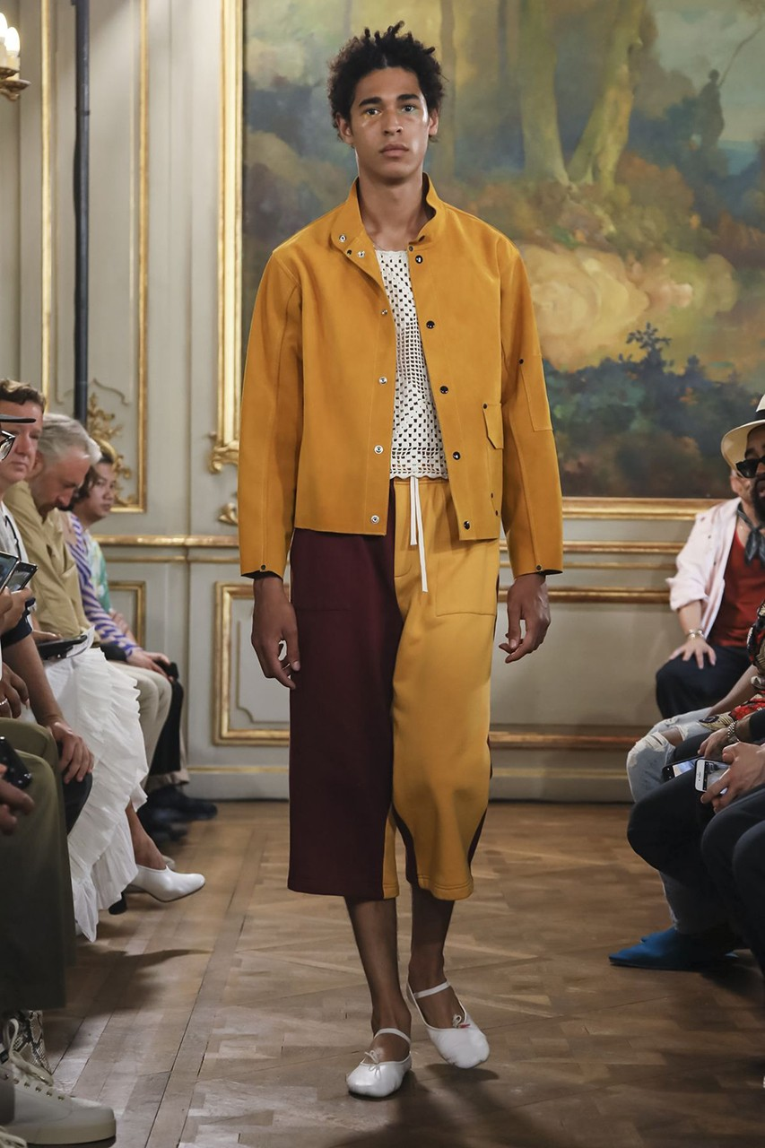 Suede + Ballet shoes is a LOOK (Source: Vogue)