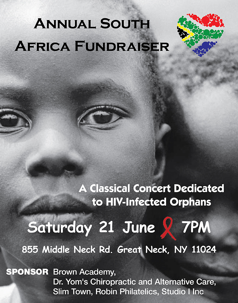 June 2014, Join us in our efforts to raise support to assisting orphans affected by HIV in South Africa.