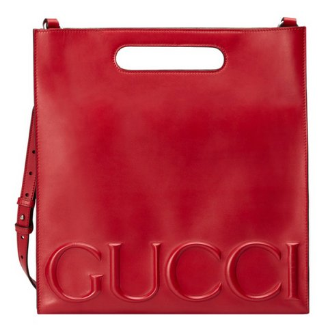 Gucci XL deri tote çanta, $2,490,  S atın almak için tıklayın