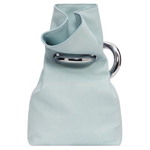 J.W.Anderson x Richard X Zawitz tokalı açık deniz mavisi kese çanta, $910,  Satın almak için tıklayın