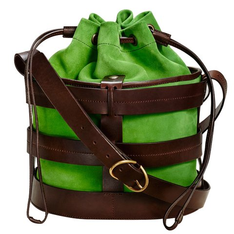 Trademark Sorrento kova çanta, $698,  Satın almak için tıklayın