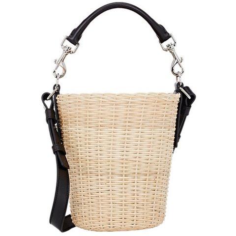 Saint Laurent sepet çanta, $1,350,  S atın almak için tıklayın