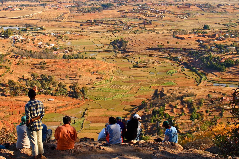 View from the sacred Royal Hill of Ambohimanga near Antananarivo.