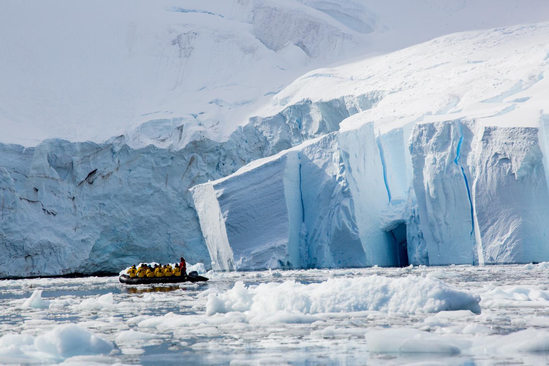 Paradise Harbor, Antarctic Peninsula.