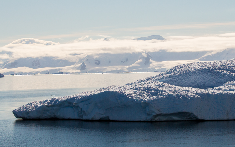 Iceberg in the Gerlache Strait, off the Antarctic Peninsula.