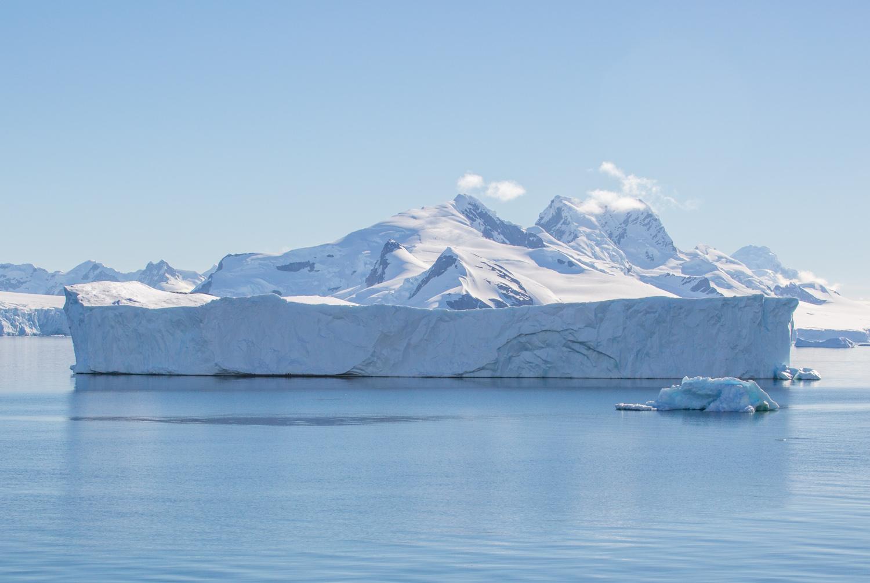 Iceberg in the Gerlache Strait.