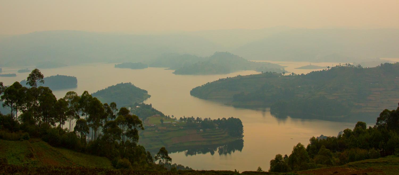 Lake Bunyonyi.
