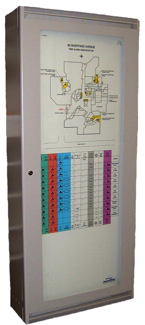Simplex Smoke Control Panel