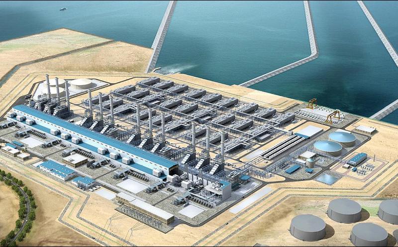 Fire Alarm Mimic Panel Jubail Power Plant, SA