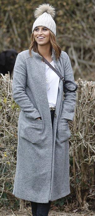 Ferne McCann from Towie wearing Helix and Felix Jewellery