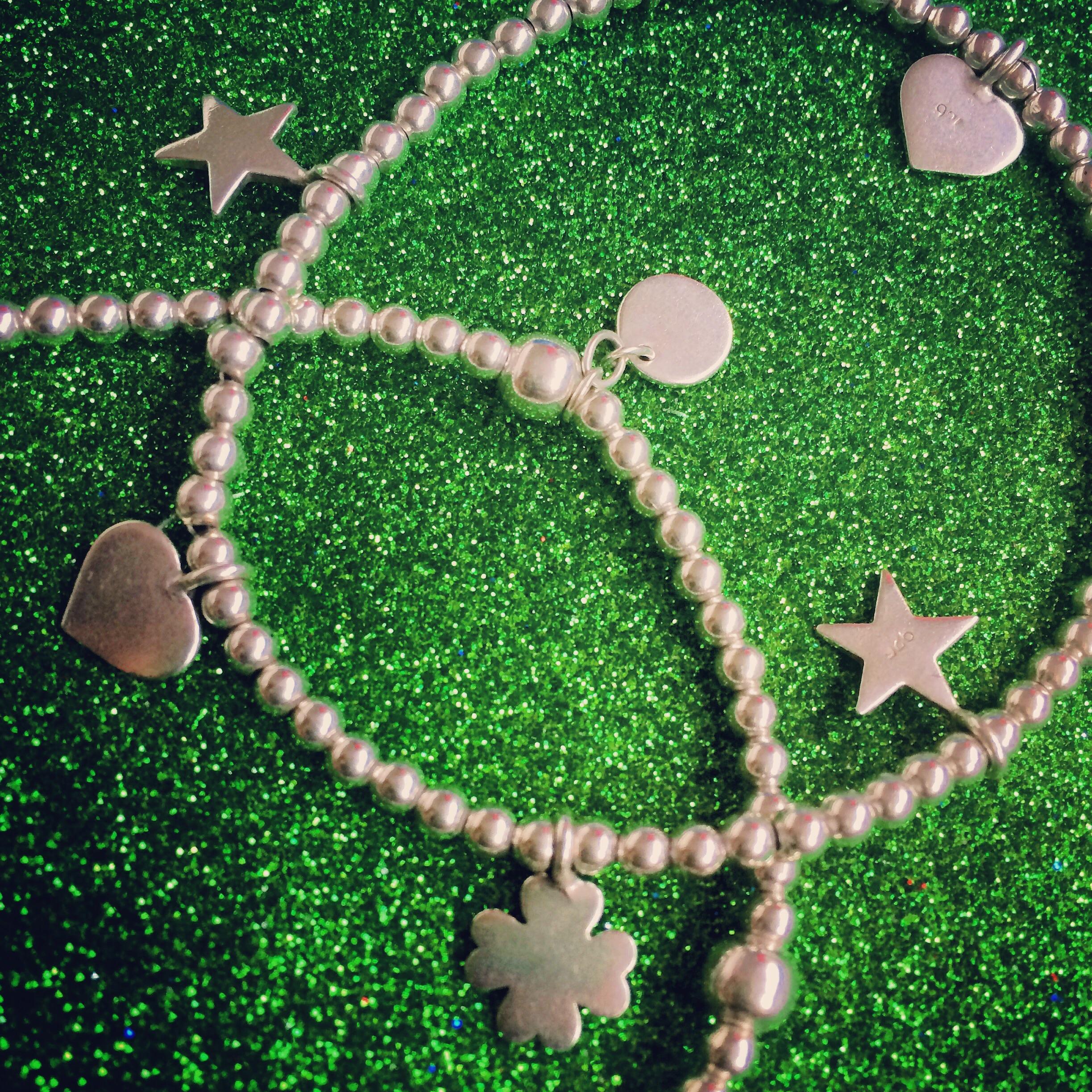 925 Sterling Silver Lucky Charm Bracelets