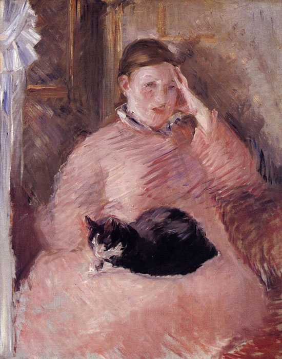 Édouard Manet, Woman with a Cat (1880-82), Tate collection
