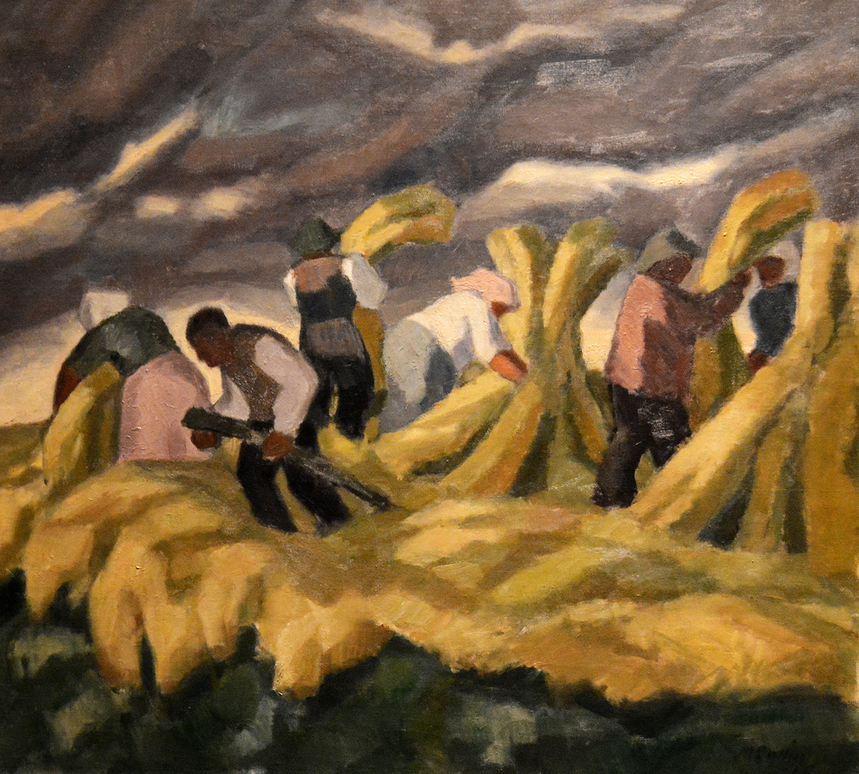Marcus Collin (1882-1966),  Harvest  (1915)