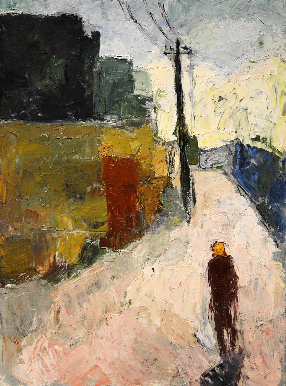 Elga Sesemann (1922-2007),  Street  (1945)