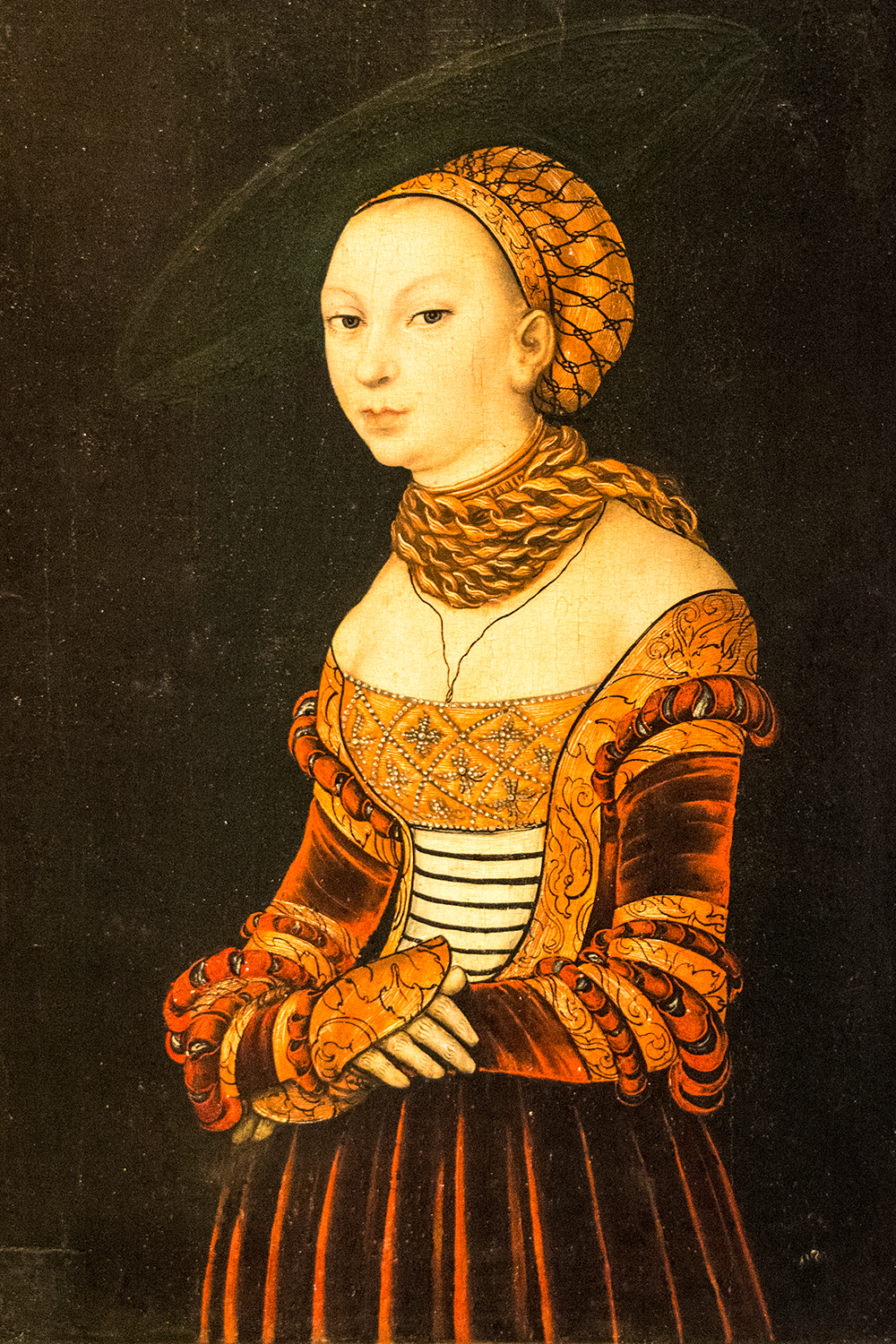 Lucas Cranach the Elder,  Portrait of a Young Lady  (1525), Synebrichoffin Taidemuseo