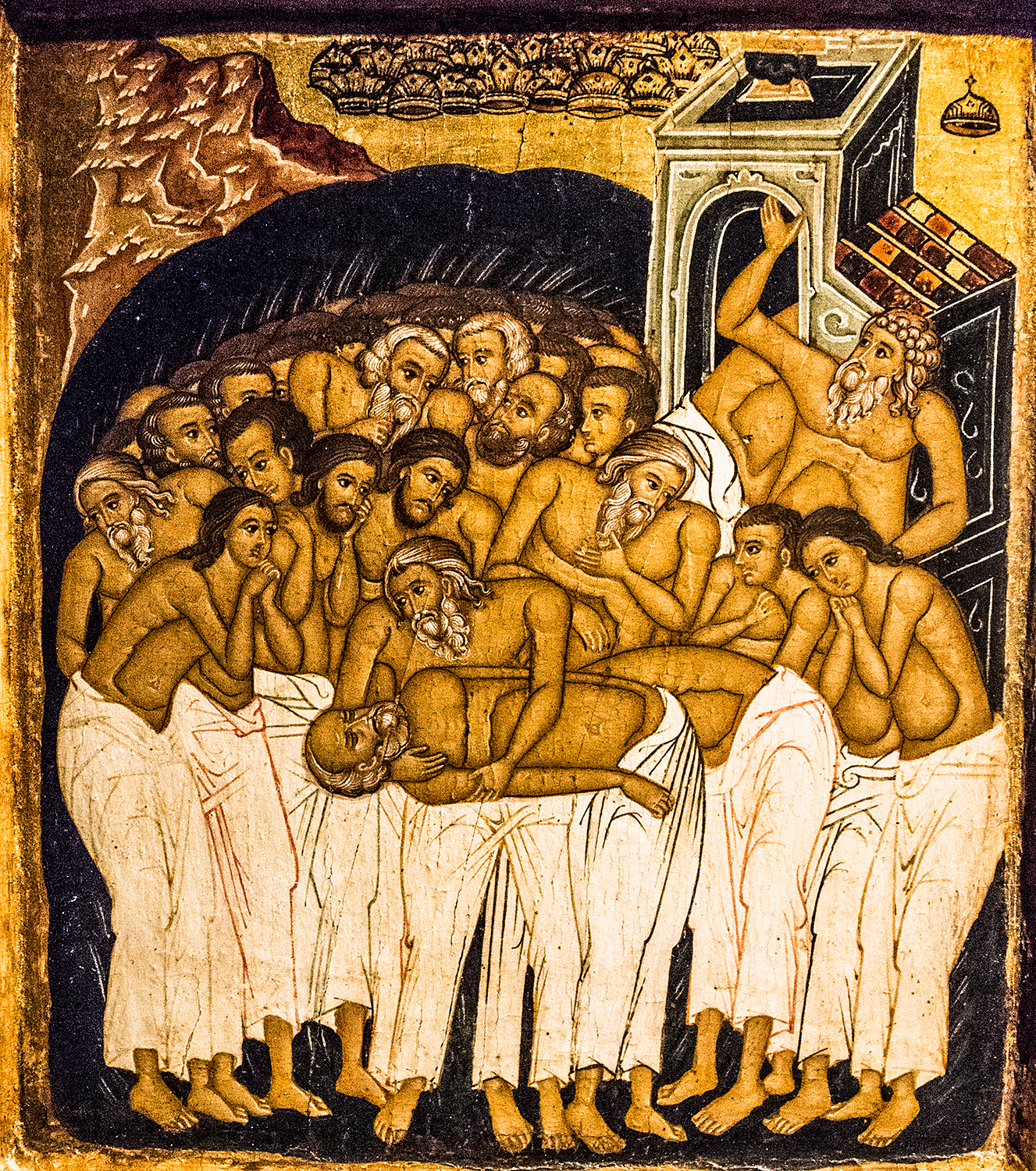 Icon of the Forty Martyrs , late 19th century