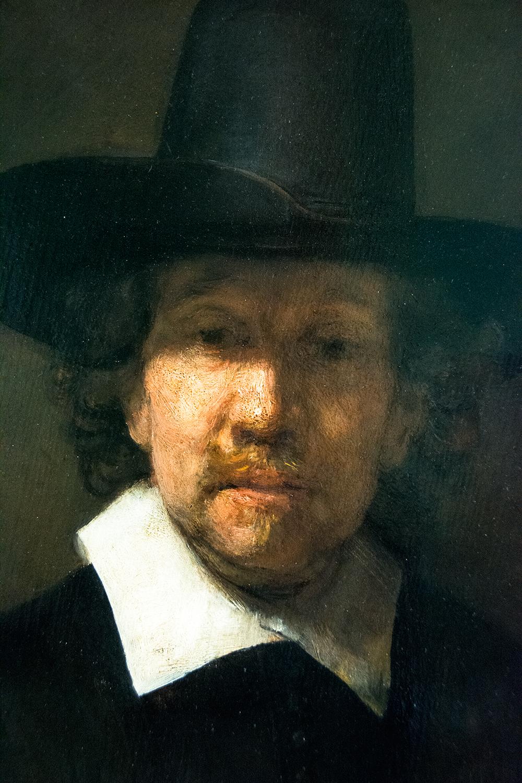 Rembrandt van Rijn, Portrait of the Poet Jeremias de Decker (1666)