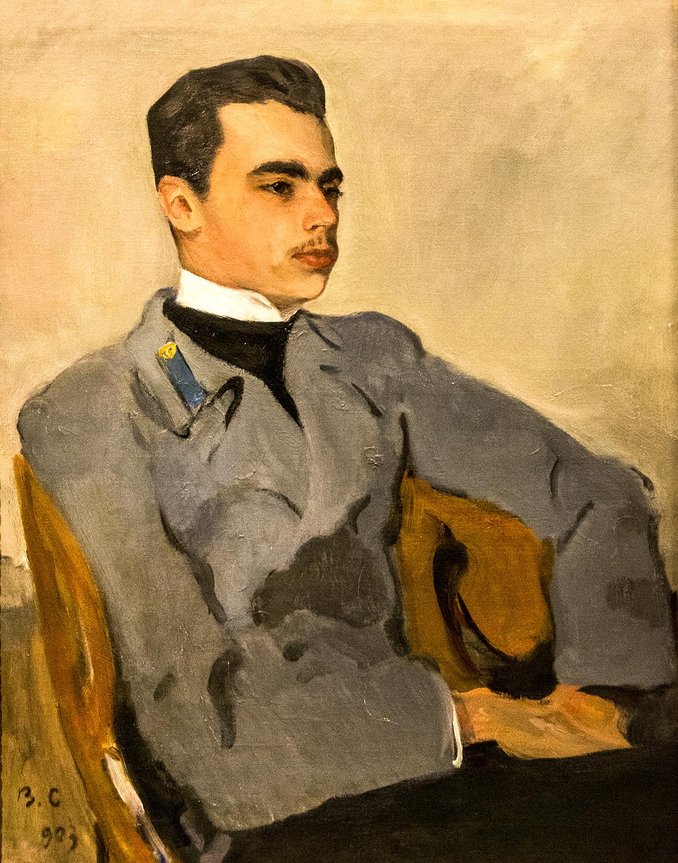Valentin Serov, Portrait of Count Nikolai Sumarokov-Elston (1903)