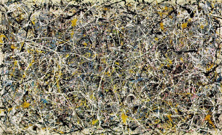 Jackson Pollock,  Number 1  (1950)