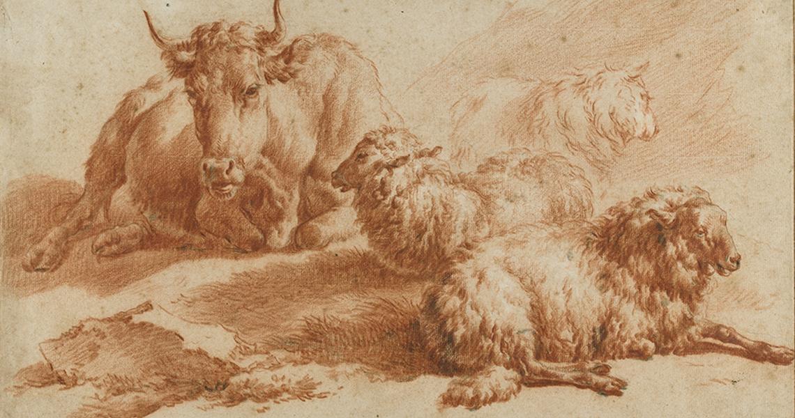 Adriaen van de Velde, animal studies