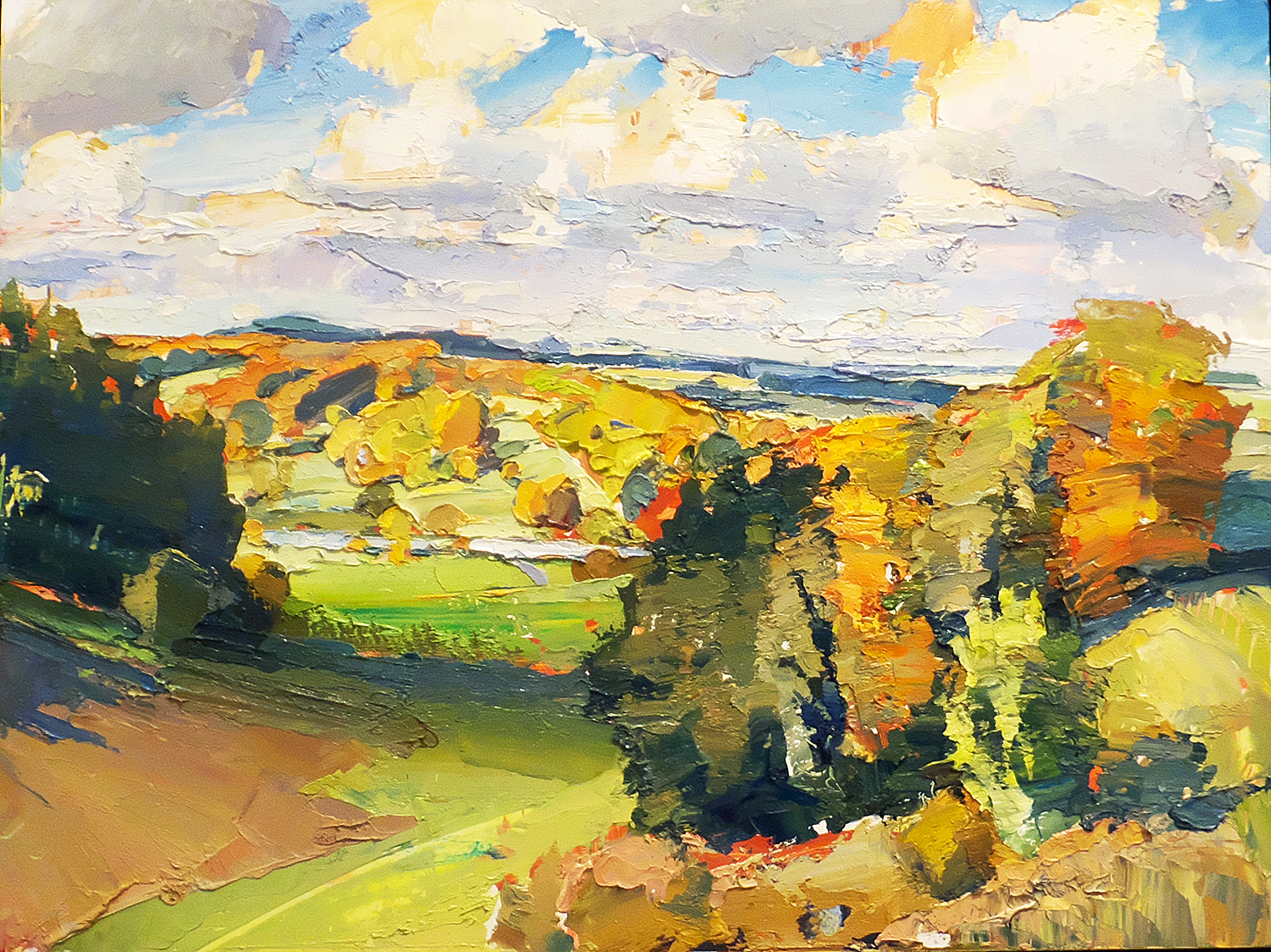 Oliver Akers Douglas,  Autumn, from Ridge to Fonthill