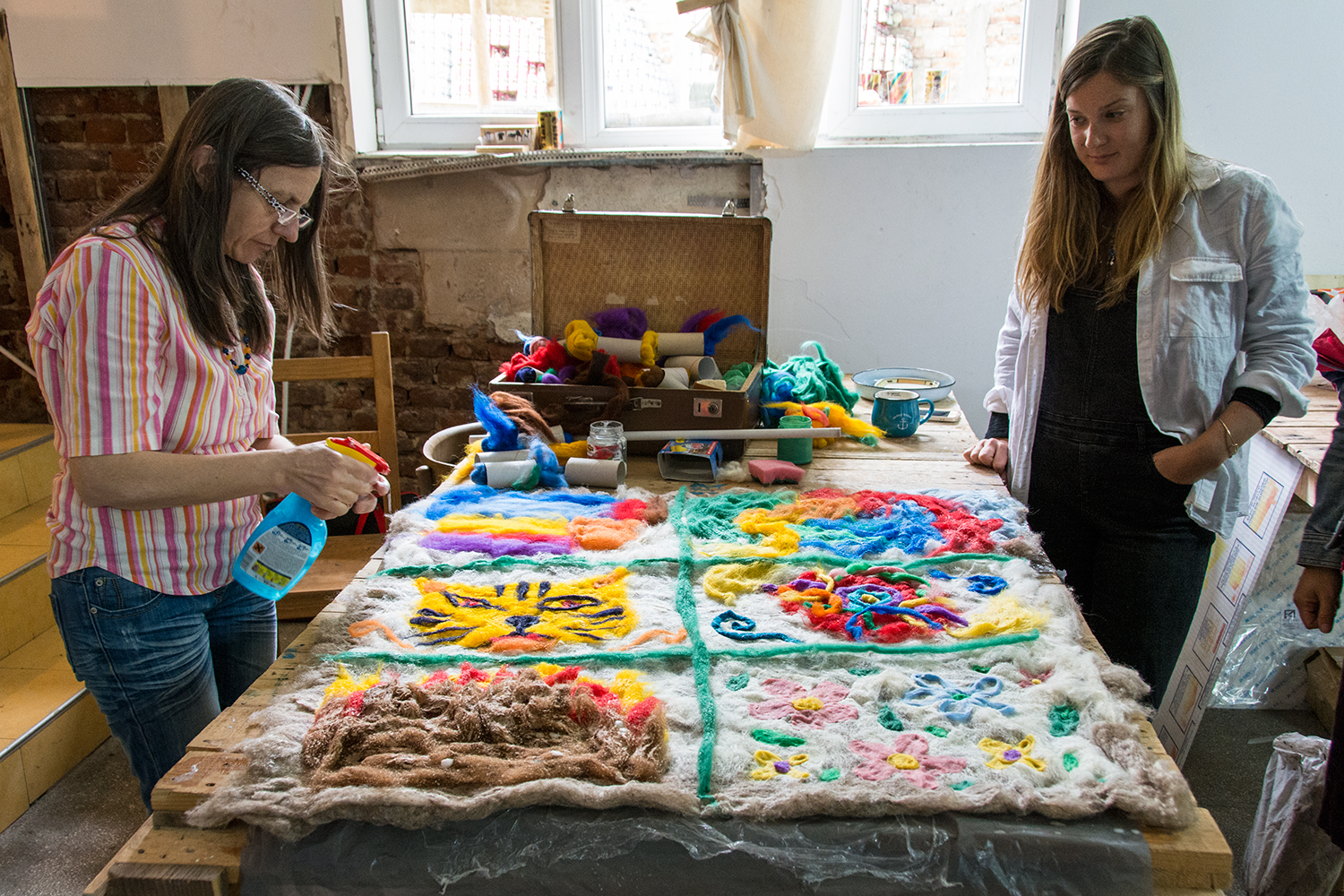 Felt-making workshop with Marieta Nedkova
