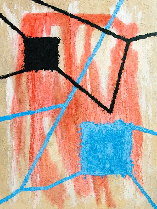 The Dénia series: Windows, 120x90 cm, oil on canvas