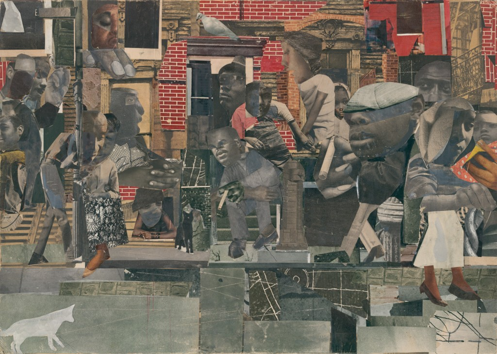 Romare Bearden,  The Dove  (1964)