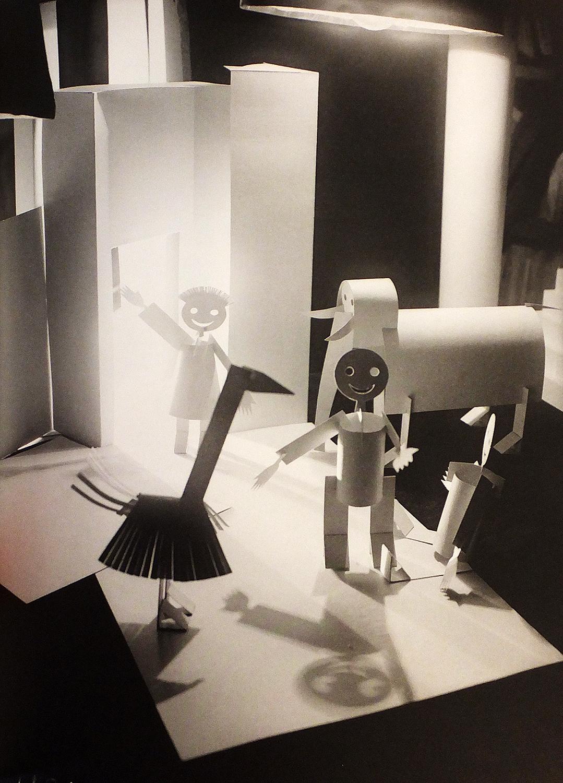 Aleksandr Rodchenko and Varvara Stepanova, photoillustration for Sergey Tretyakov's  Animated Animals,  1926