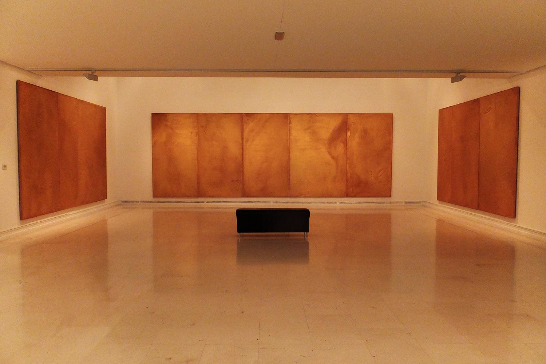 José María Sicilia,  La Luz Que Se Apaga  ( The Light That Fades ), oil and wax on wood, 1996 (IVAM collection)