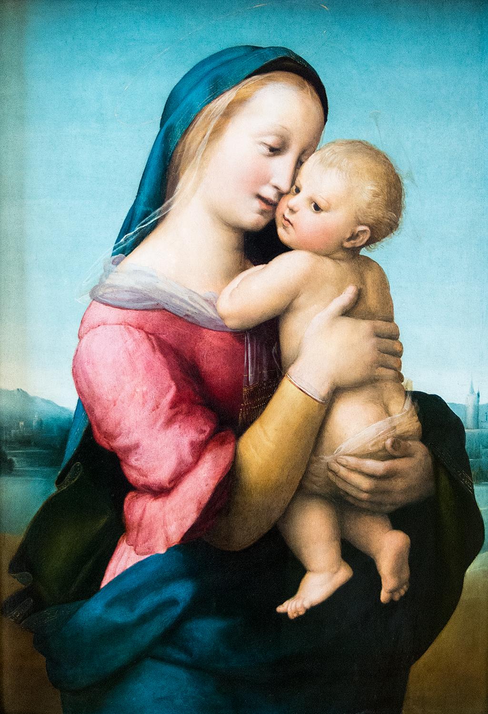 Raphael, Tempi Madonna (c 1508), Alte Pinakothek