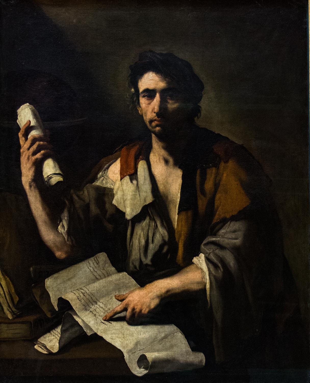 Luca Giordano, A Cynic Philosopher (c 1650), Alte Pinakothek