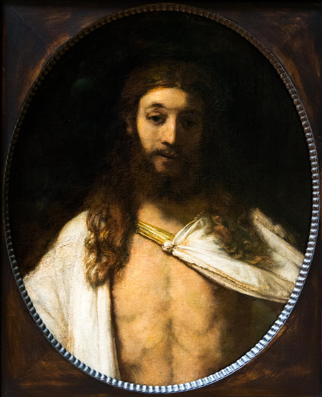 Rembrandt van Rijn, The Resurrected Christ (1661), Alte Pinakothek