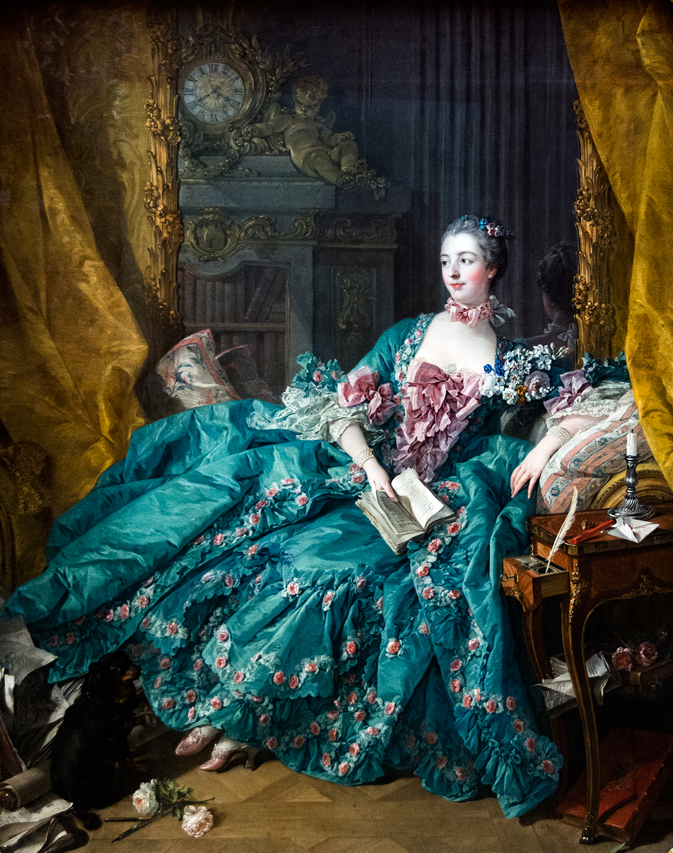 François Boucher, Madame de Pompadour (1756), Alte Pinakothek