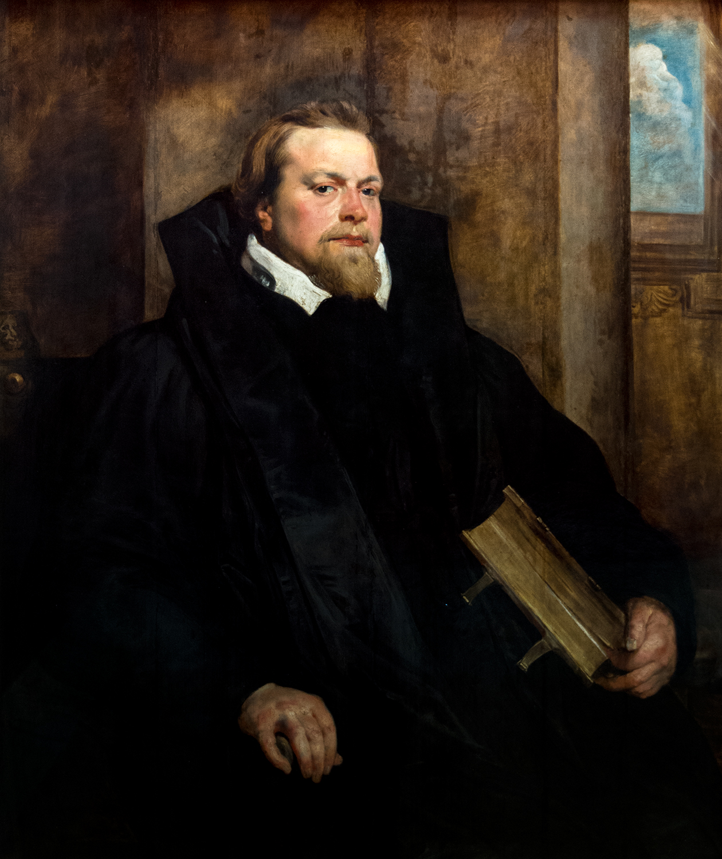 Peter Paul Rubens, Portrait of Hendrik van Thulden (c 1615), Alte Pinakothek