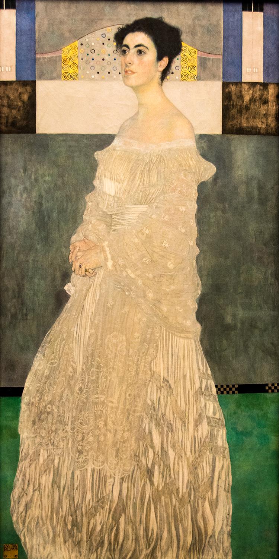 Gustav Klimt,  Margaret Stonborough-Wittgenstein  (1905), Neue Pinakothek