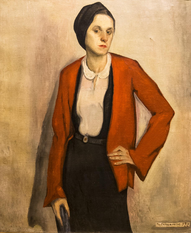 Zlaytu Boyadzhiev, Female Portrait (1932)