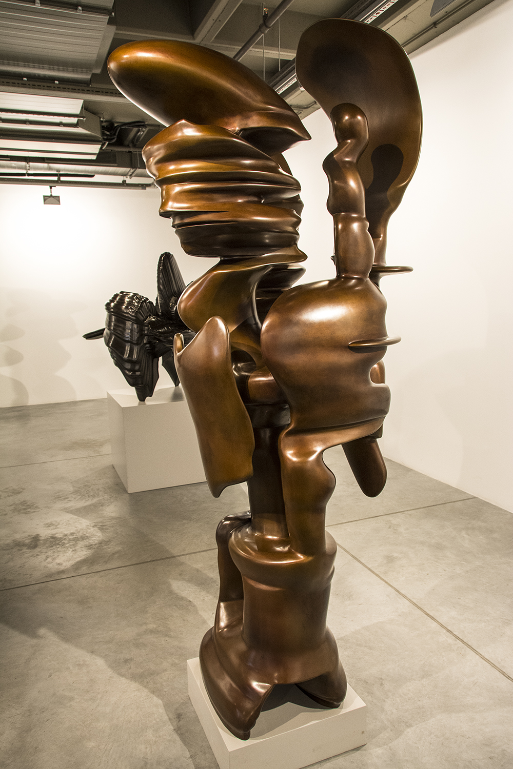 Sculpture by Anthony Cragg