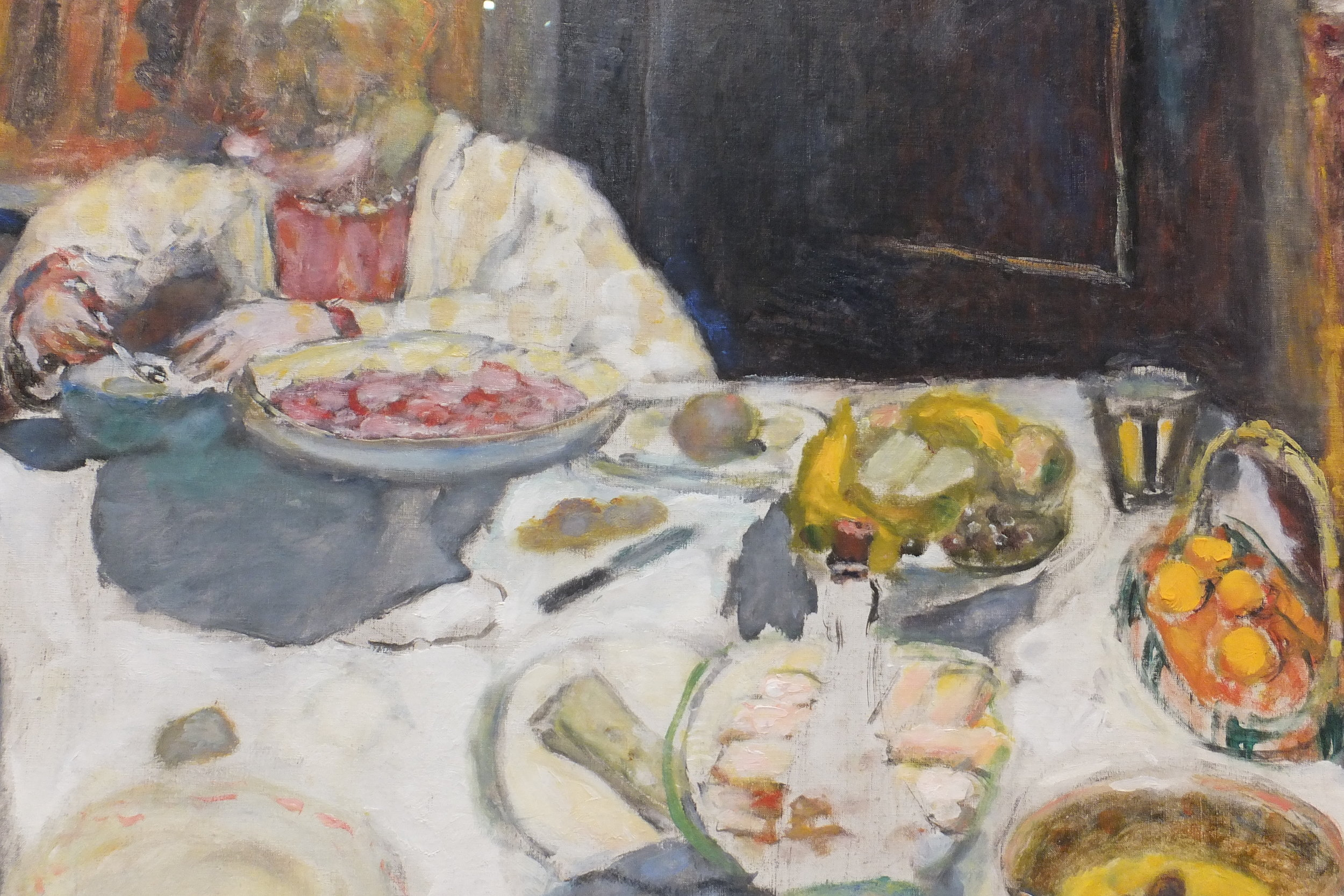 Pierre Bonnard, The Table (1925) (detail), Tate collection