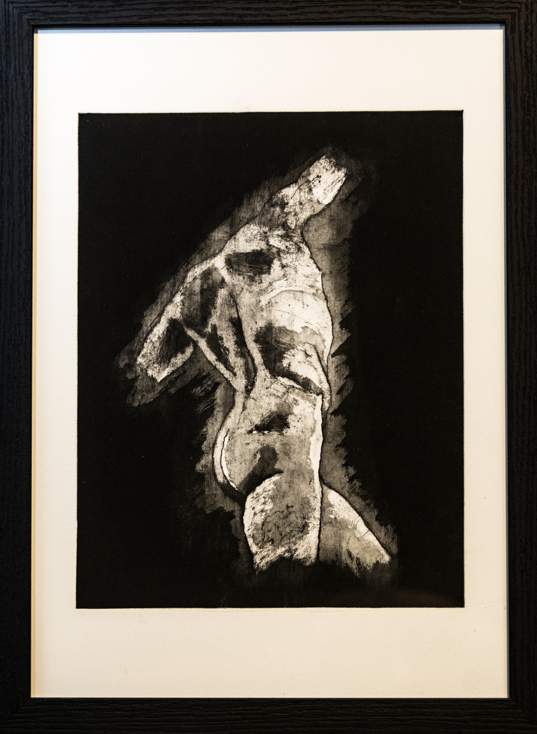 Samson, aquatint, 42x30 cm (edition of 20)