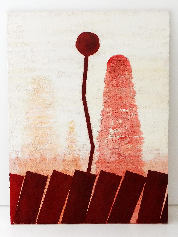 The Dénia series: Sunset II, oil on canvas, 120x90 cm