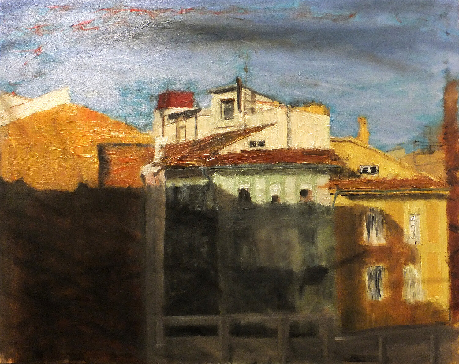 The Valencia series: The Old Town III, oil on canvas, 92x73 cm